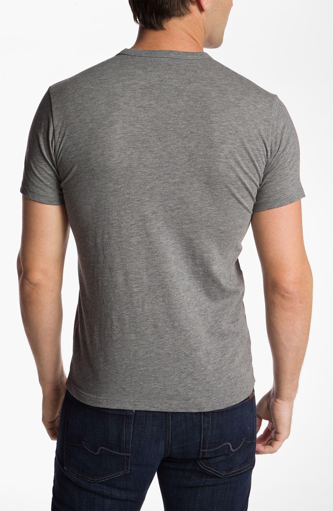 Alternate Image 2  - Banner 47 'Detroit Lions' Slubbed Crewneck T-Shirt
