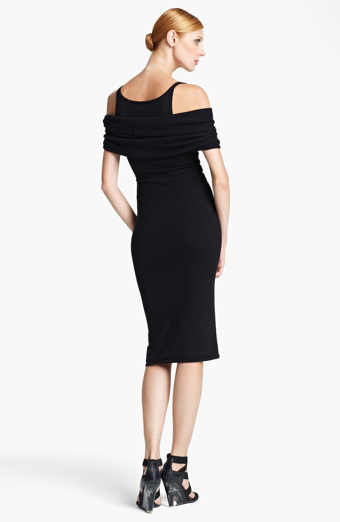 Alternate Image 2  - Donna Karan Collection 'First Layer' Cold Shoulder Dress
