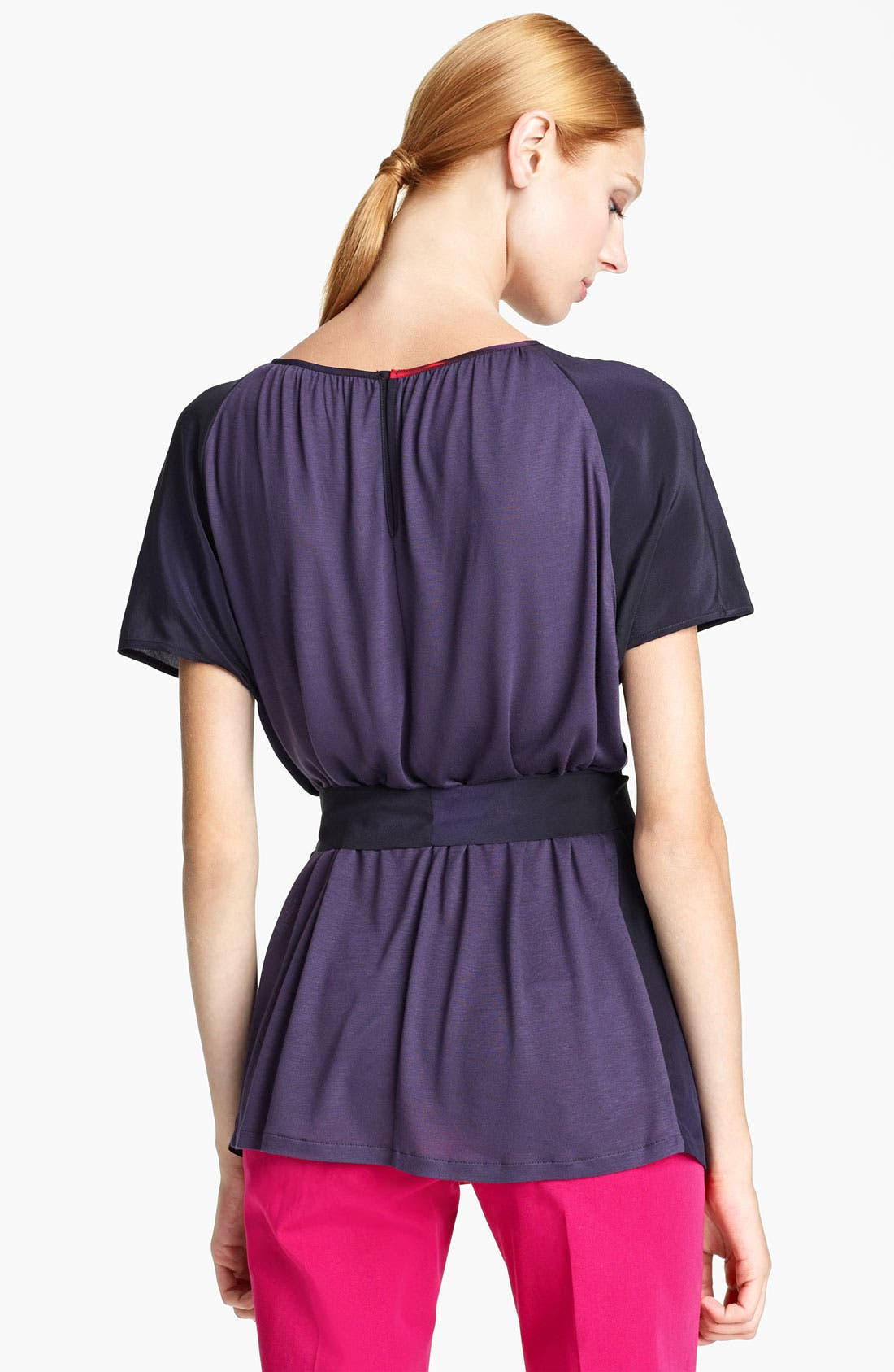 Alternate Image 2  - Max Mara 'Panteon' Belted Print Top