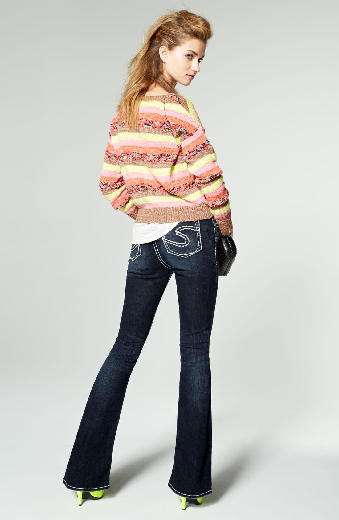 Alternate Image 5  - Silver Jeans Co. 'Natsuki' Bootcut Jeans (Juniors)