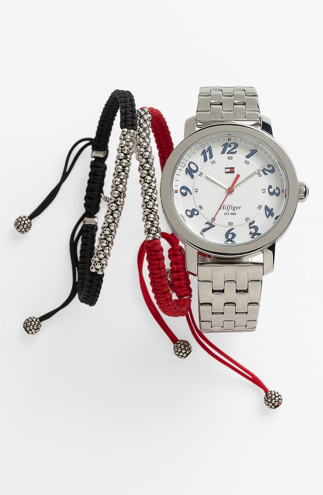 Alternate Image 2  - Tommy Hilfiger Round Bracelet Watch, 38mm