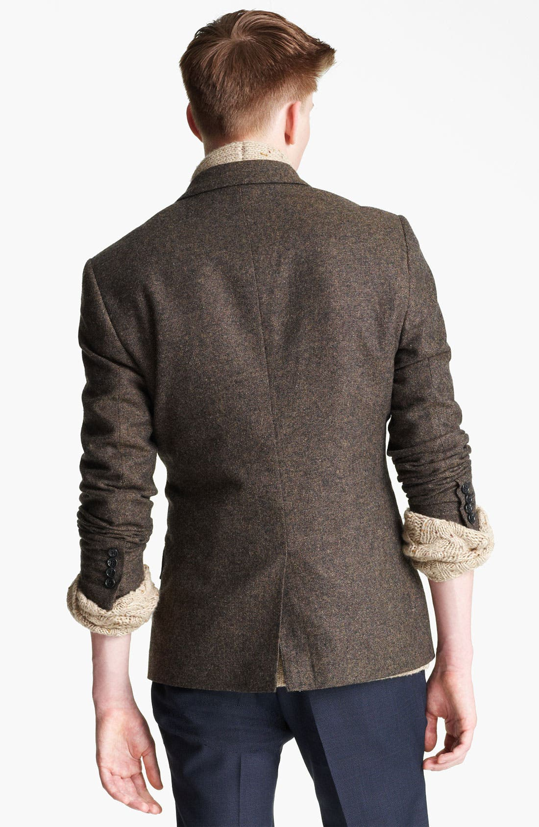 Alternate Image 2  - Topman 'Lazio' Donegal Heritage Blazer