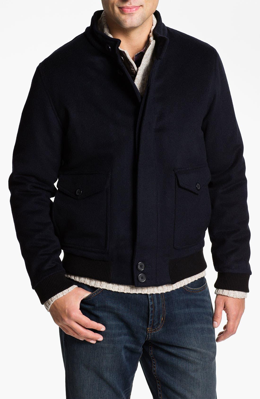 Alternate Image 1 Selected - Hart Schaffner Marx Wool & Cashmere Blouson Jacket