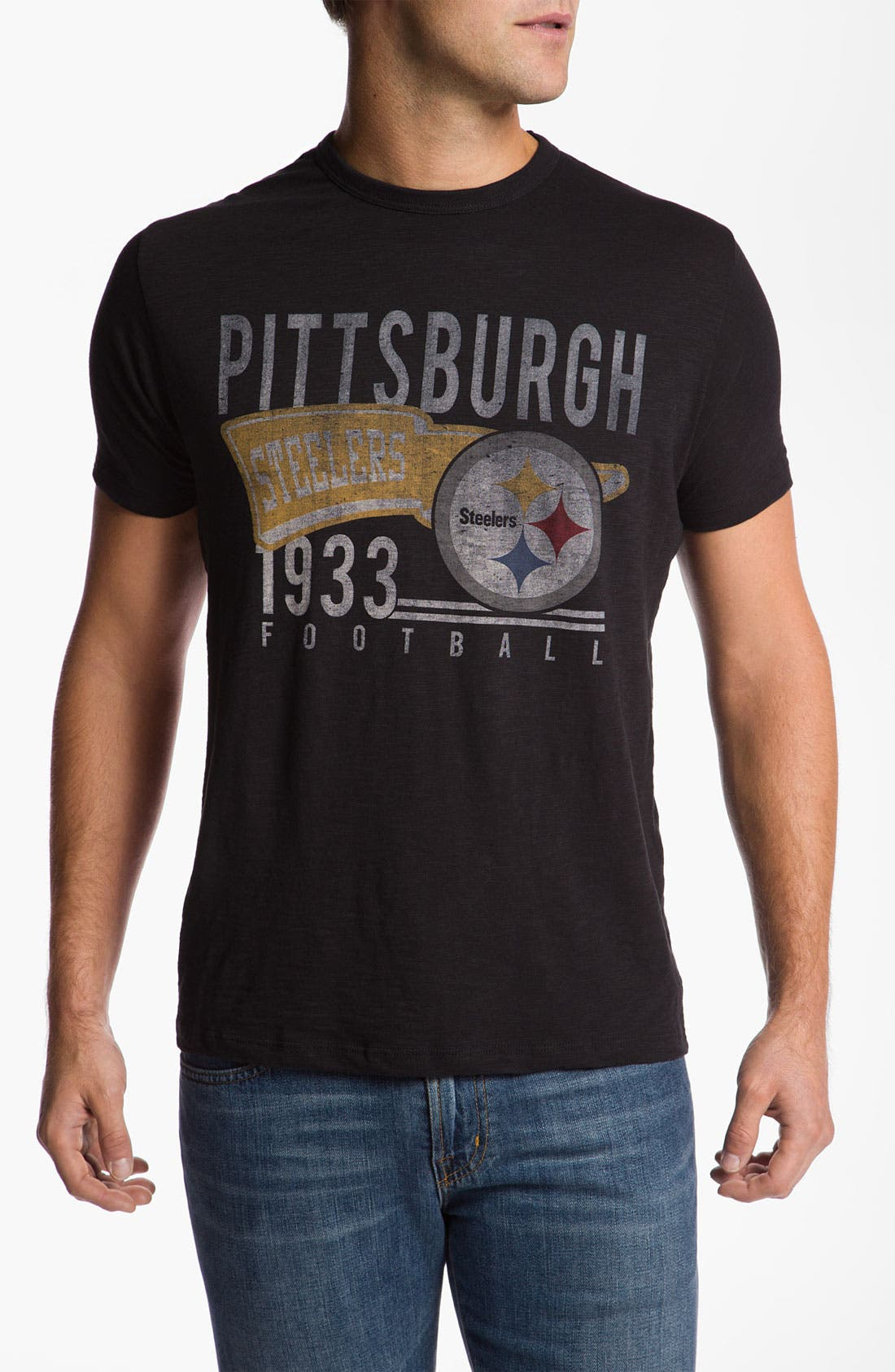Alternate Image 1 Selected - Banner 47 'Pittsburgh Steelers - Scrum' T-Shirt