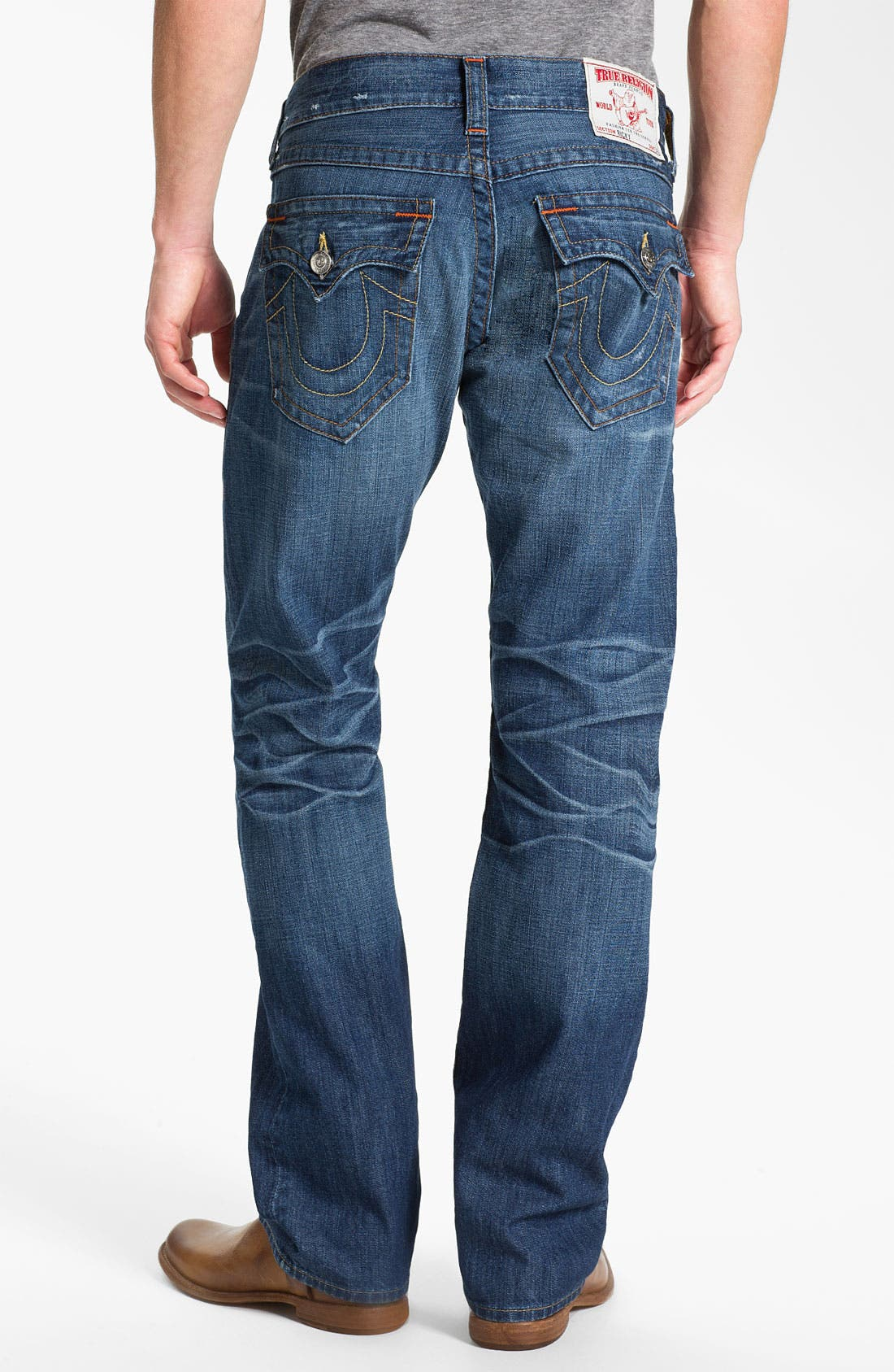 Alternate Image 1 Selected - True Religion Brand Jeans 'Ricky' Straight Leg Jeans (Pioneer)