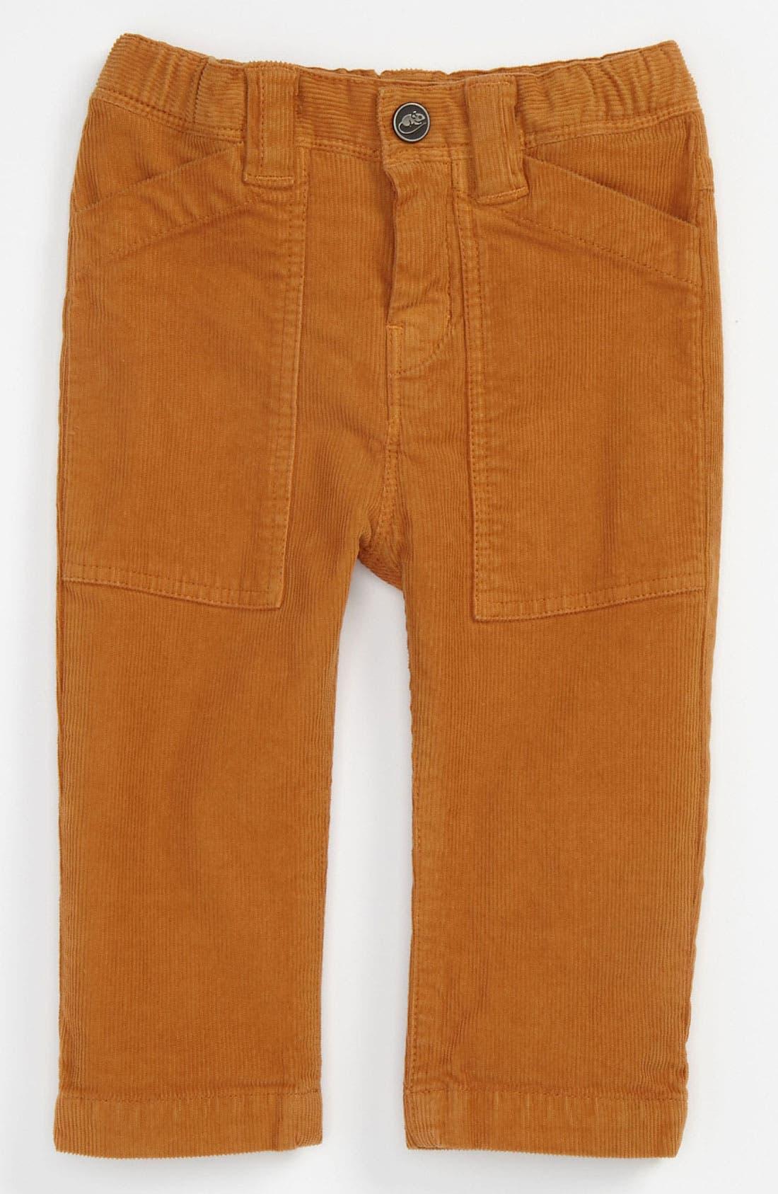Main Image - LITTLE MARC JACOBS Stretch Corduroy Pants (Infant)