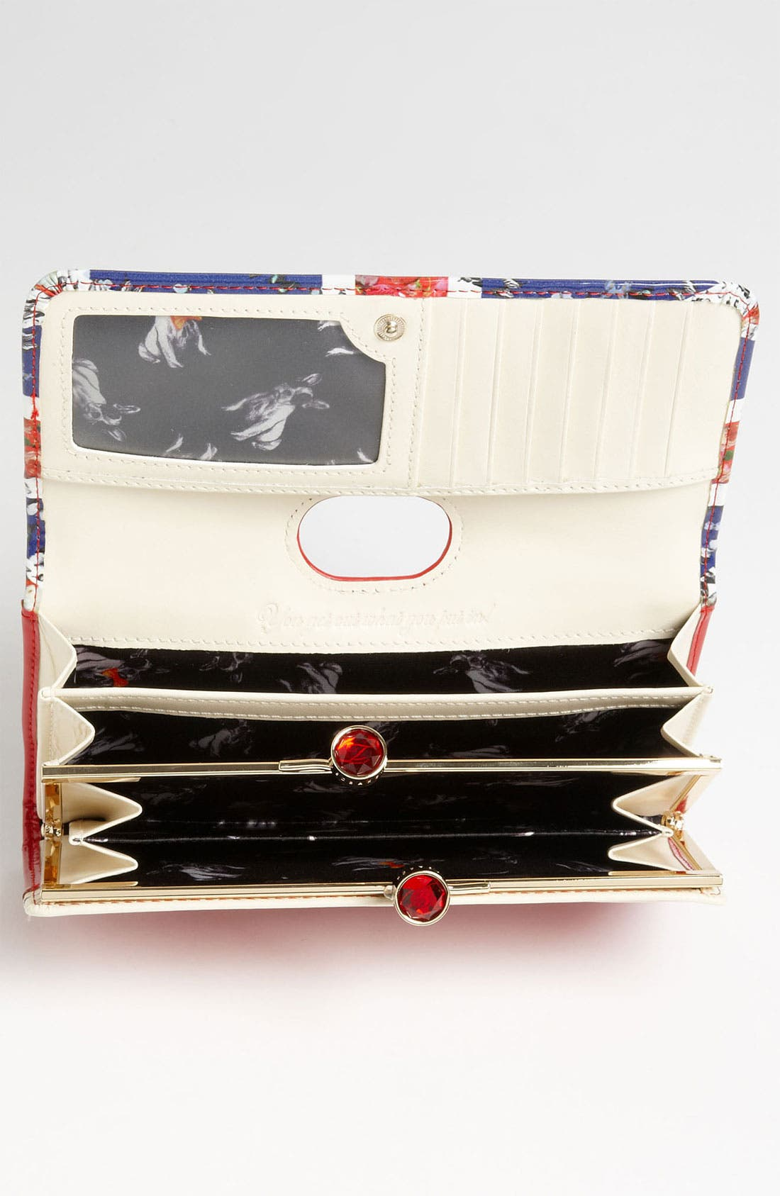 Alternate Image 3  - Ted Baker London 'Union Jack - Crystal Bobble' Matinee Wallet