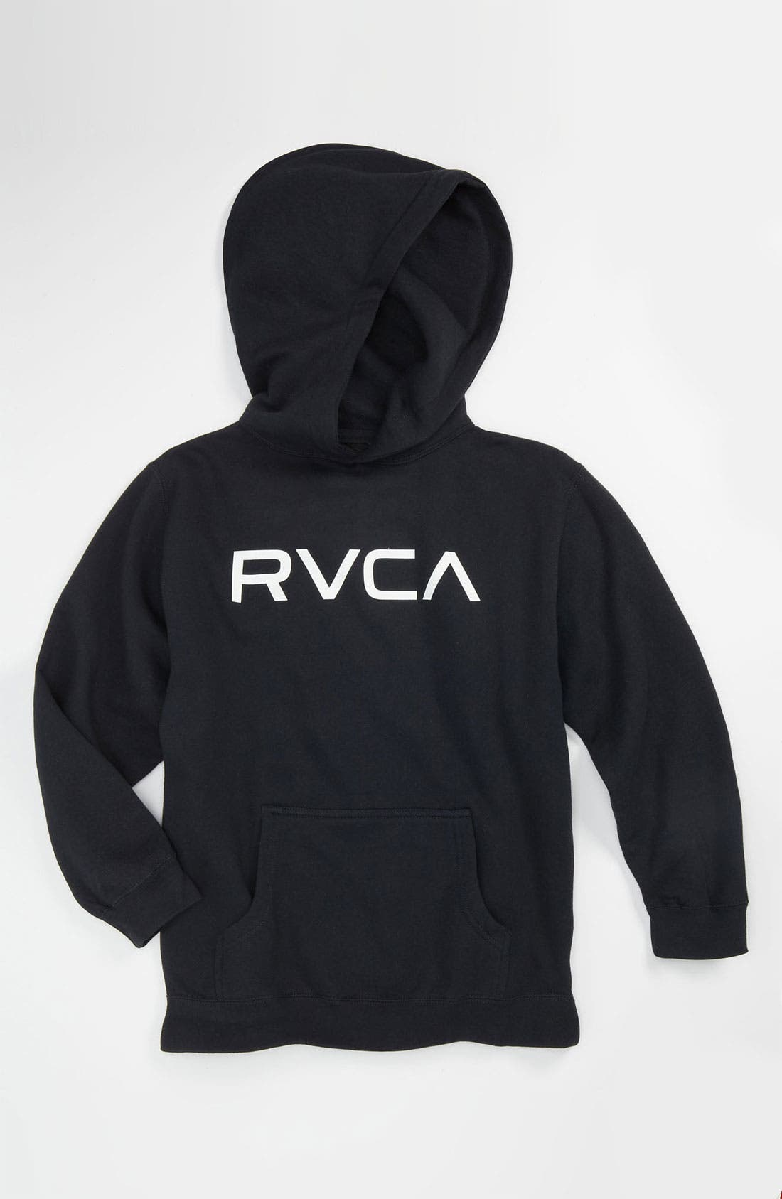 Alternate Image 1 Selected - RVCA 'Big' Hoodie (Big Boys)