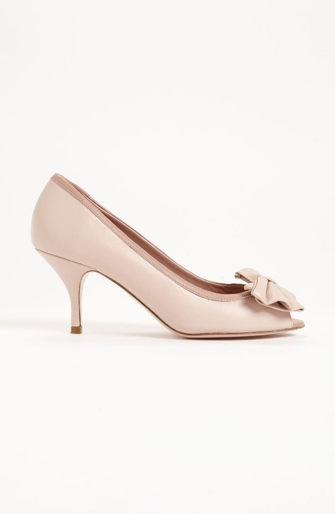 Alternate Image 4  - RED Valentino Peep Toe Pump