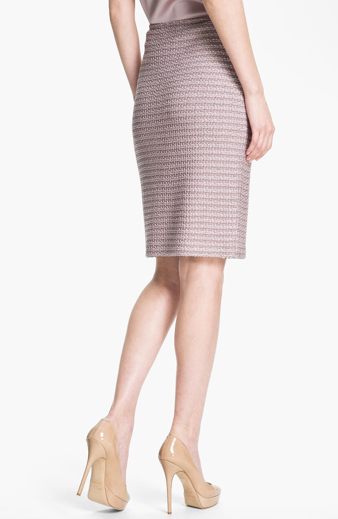 Alternate Image 3  - St. John Collection Madison Tweed Skirt