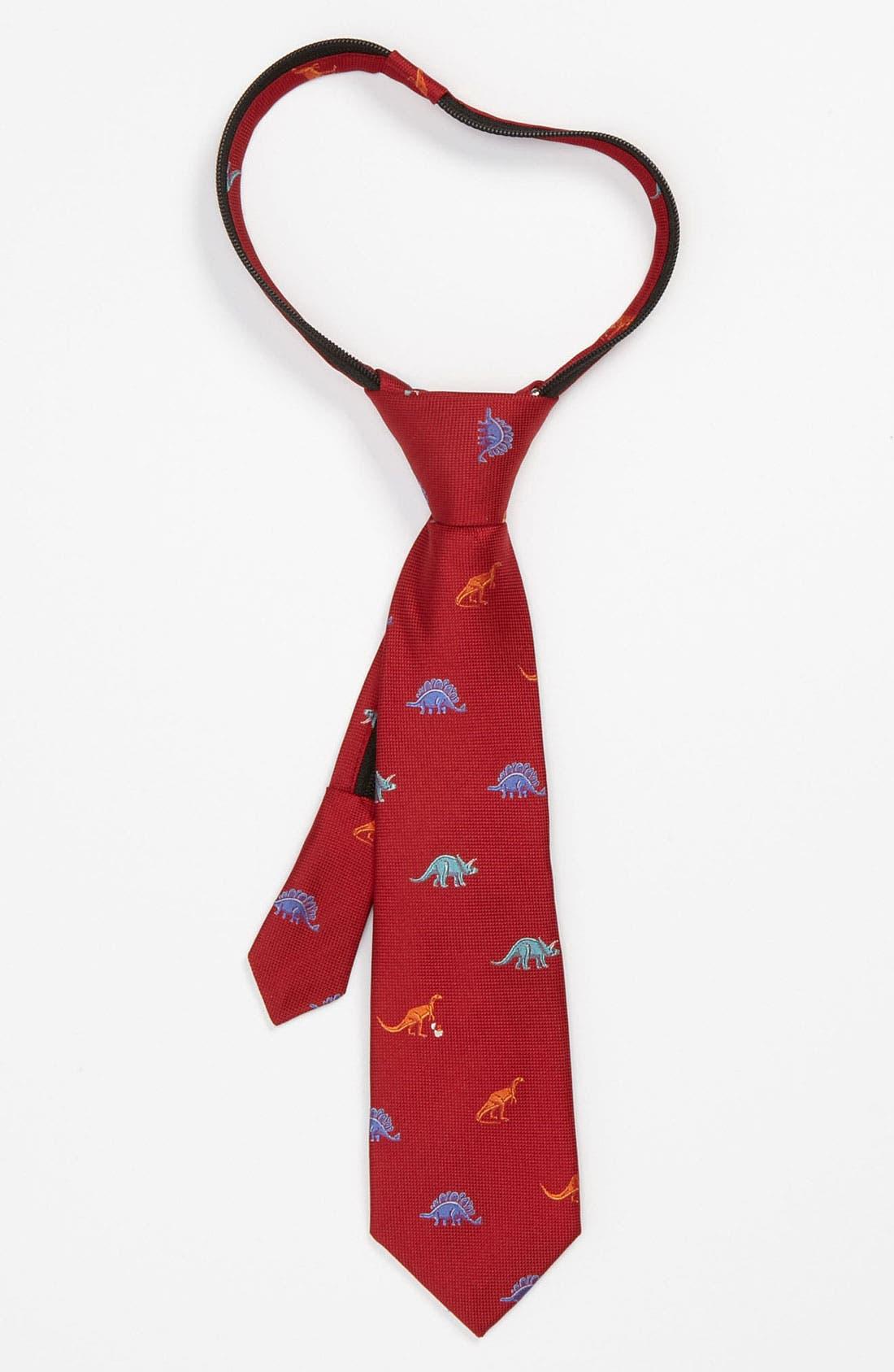 Main Image - Nordstrom 'Dino' Zipper Tie (Little Boys)