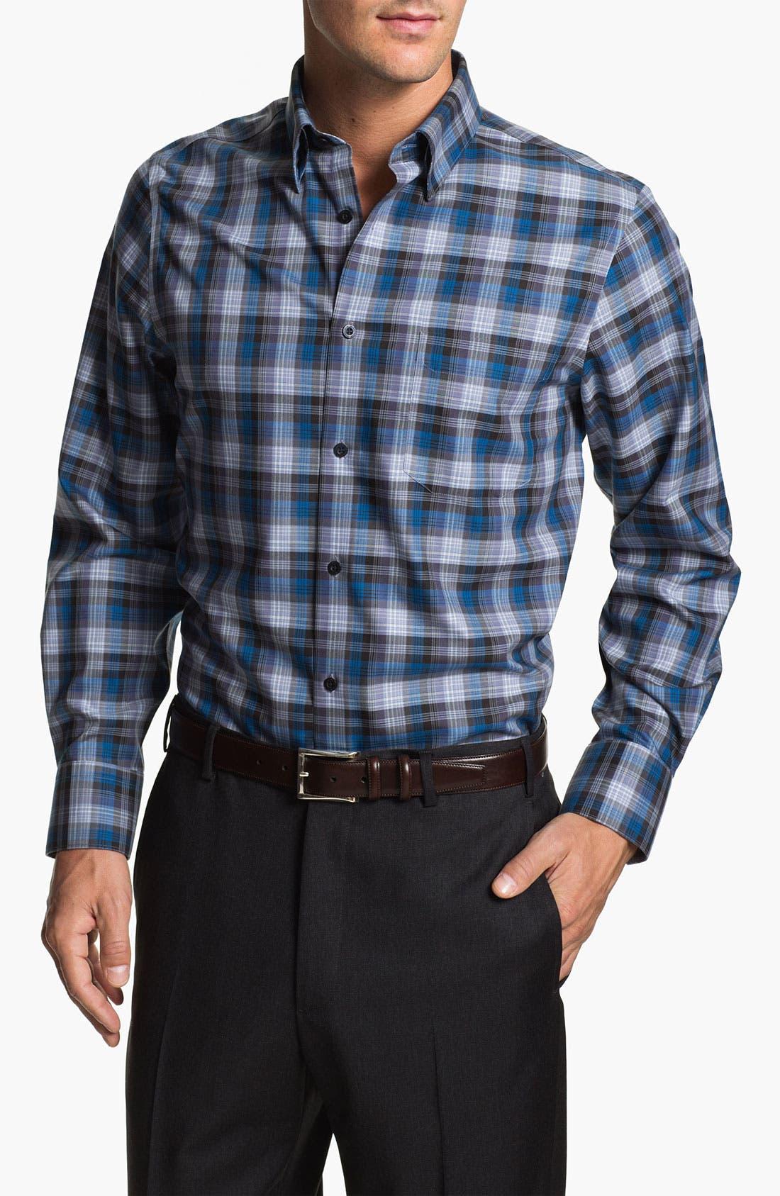 Main Image - Nordstrom Regular Fit Twill Sport Shirt