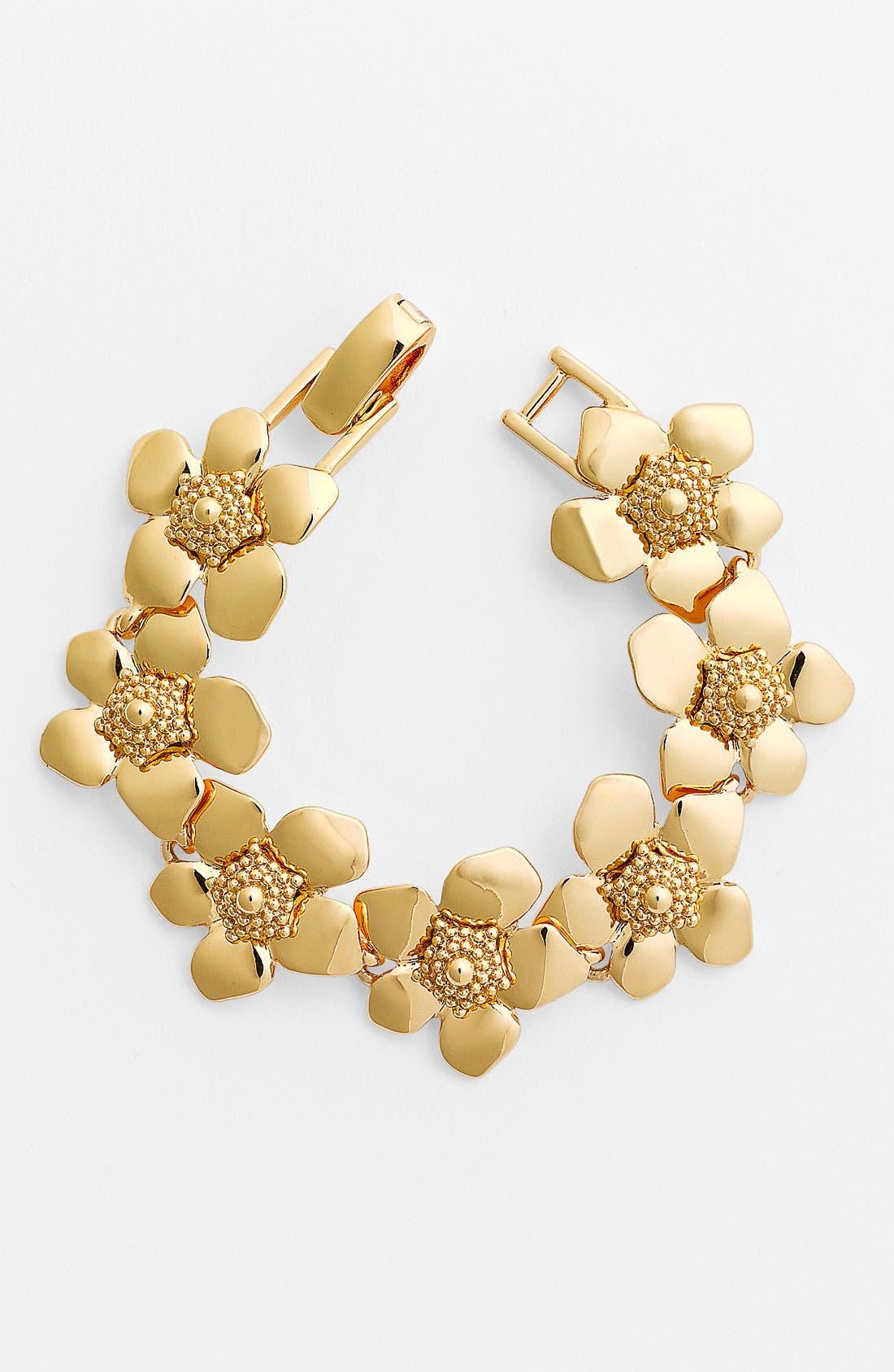 Alternate Image 1 Selected - kate spade new york 'bloomspot' tennis bracelet