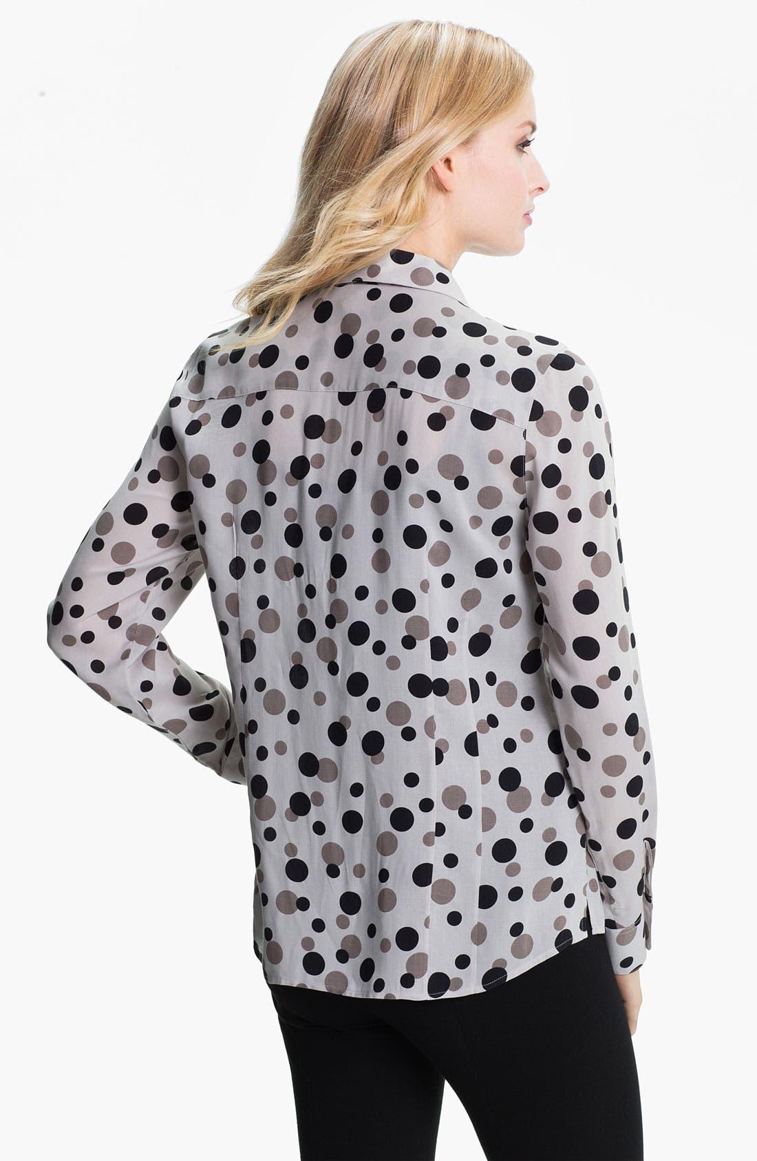 Alternate Image 2  - Foxcroft 'Floating Dots' Shirt