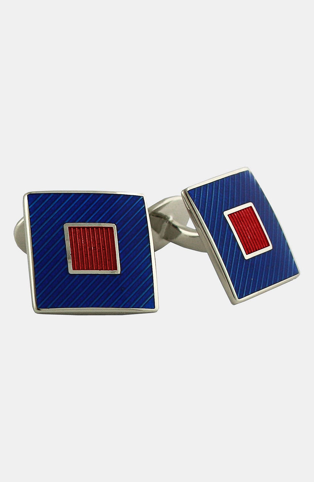 Main Image - David Donahue Square Cuff Links