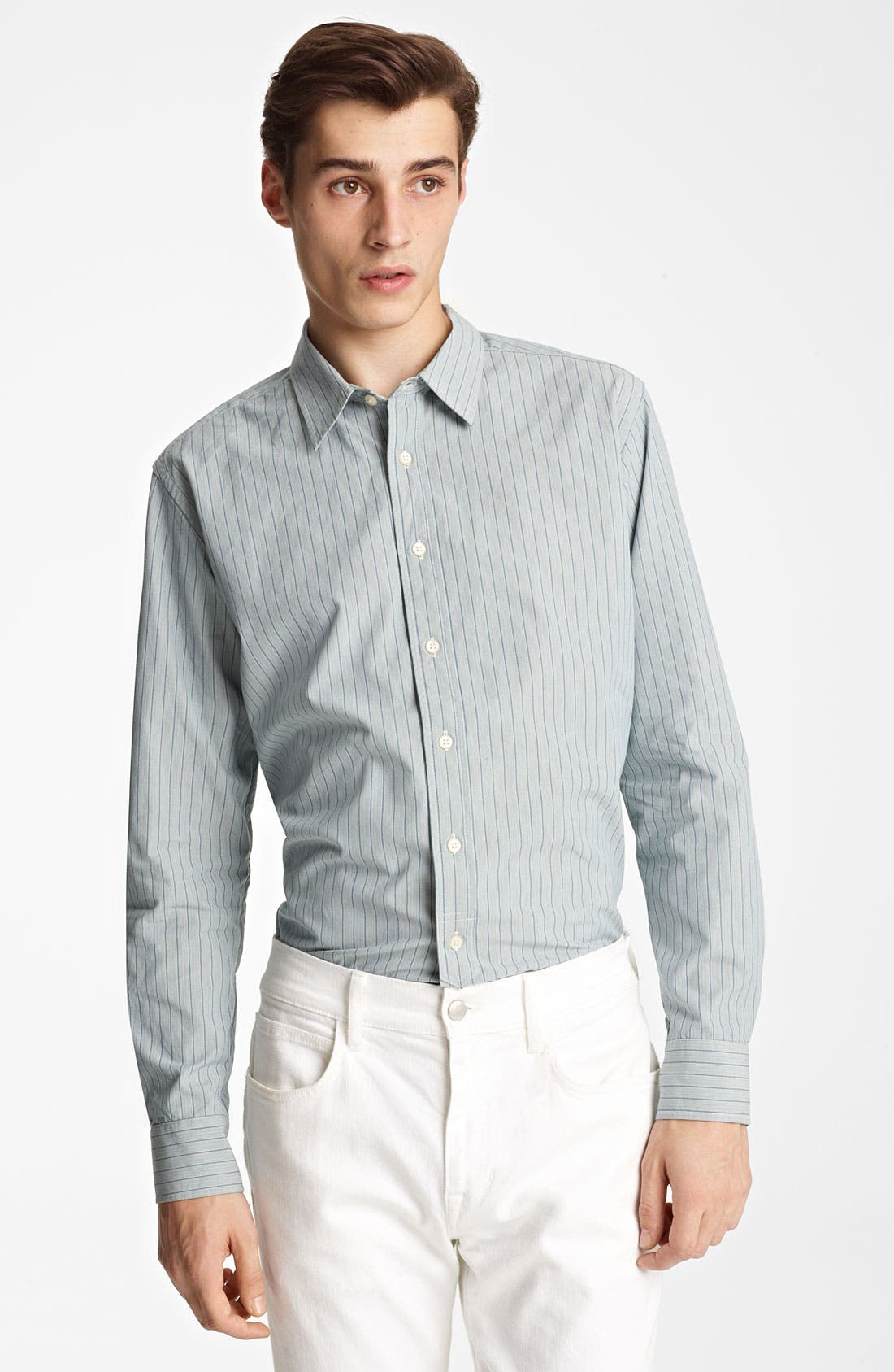 Alternate Image 1 Selected - Grayers Trim Fit Sport Shirt