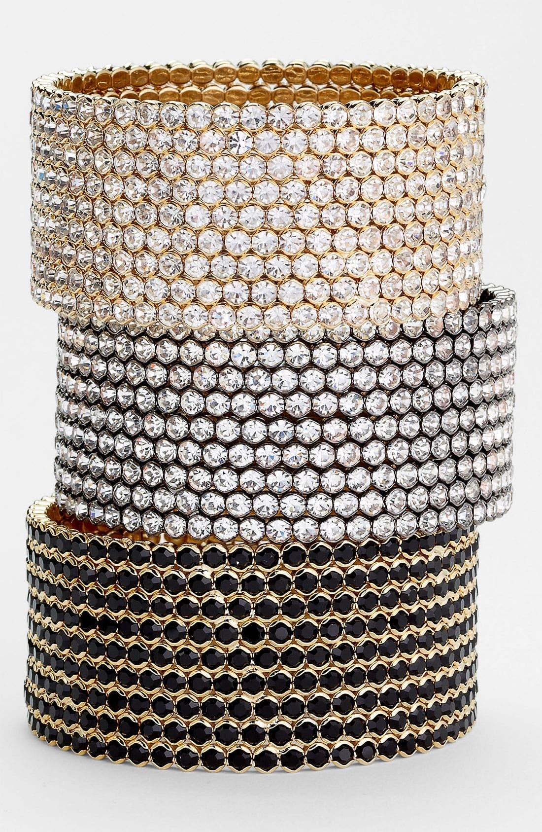 Main Image - Cara Large Crystal Cuff