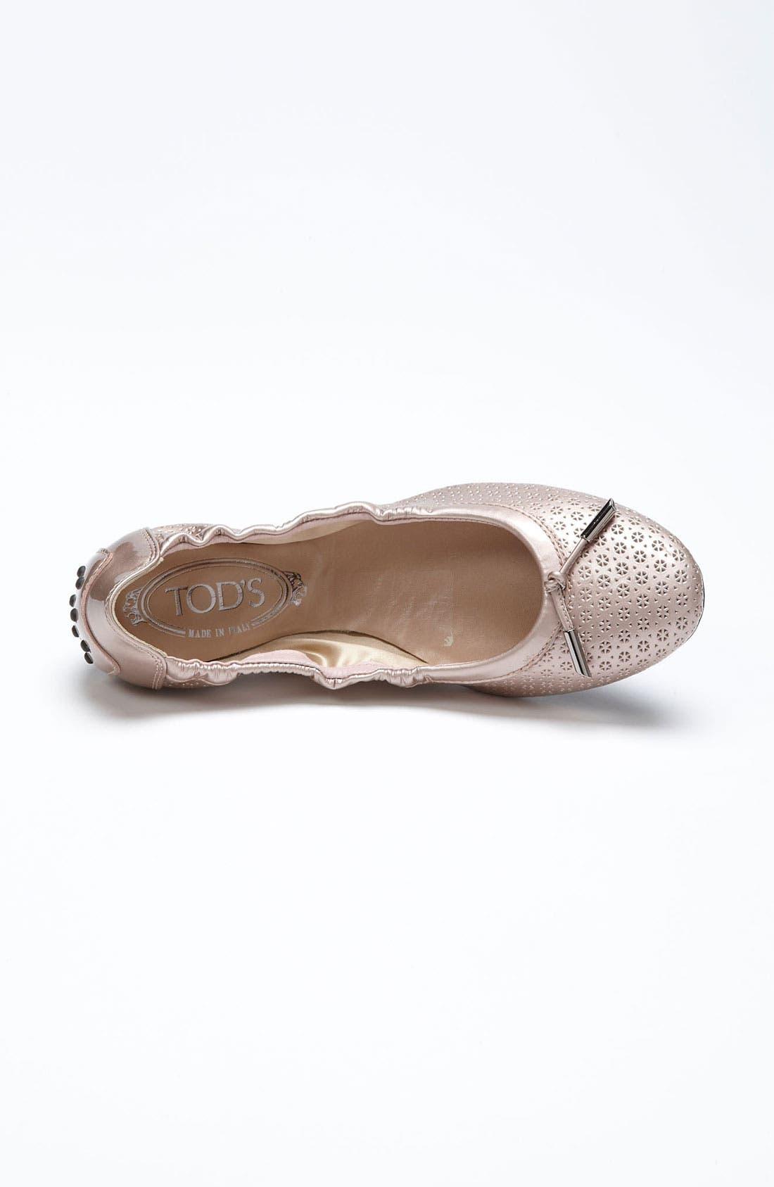 Alternate Image 3  - Tod's 'Optical Flower' Ballet Flat
