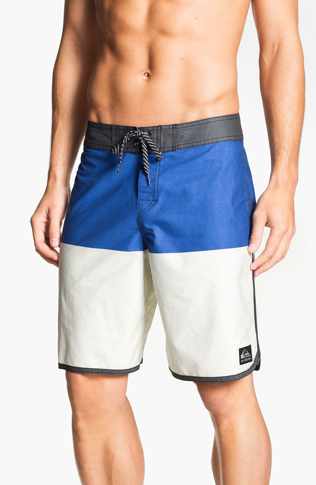 Alternate Image 1 Selected - Quiksilver 'Half and Half' Board Shorts