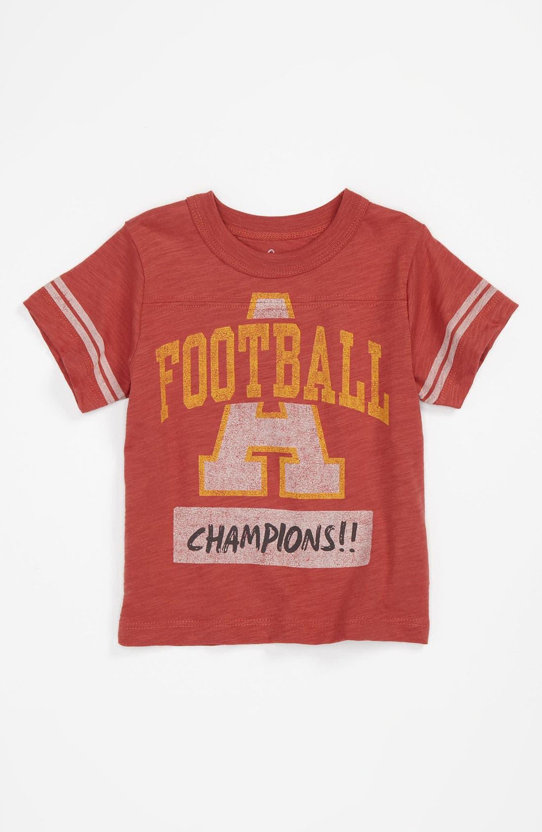 Alternate Image 1 Selected - Peek 'Football Champs' Jersey T-Shirt (Infant)