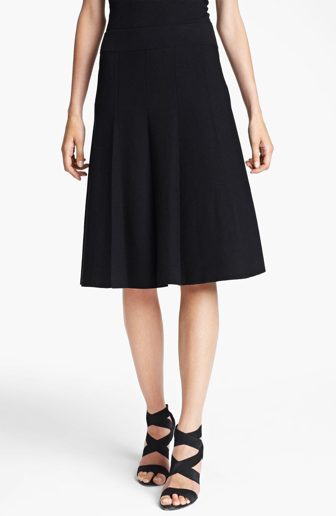 Main Image - Donna Karan Collection Flared Jersey Skirt