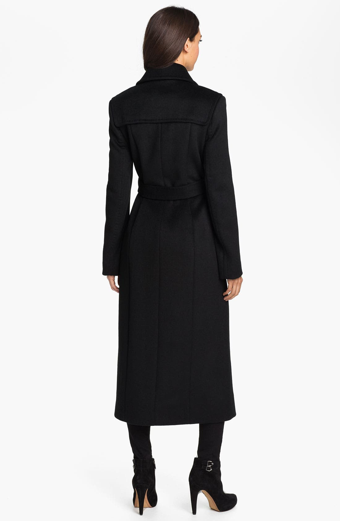 Alternate Image 2  - Kenneth Cole New York Long Wool Blend Coat