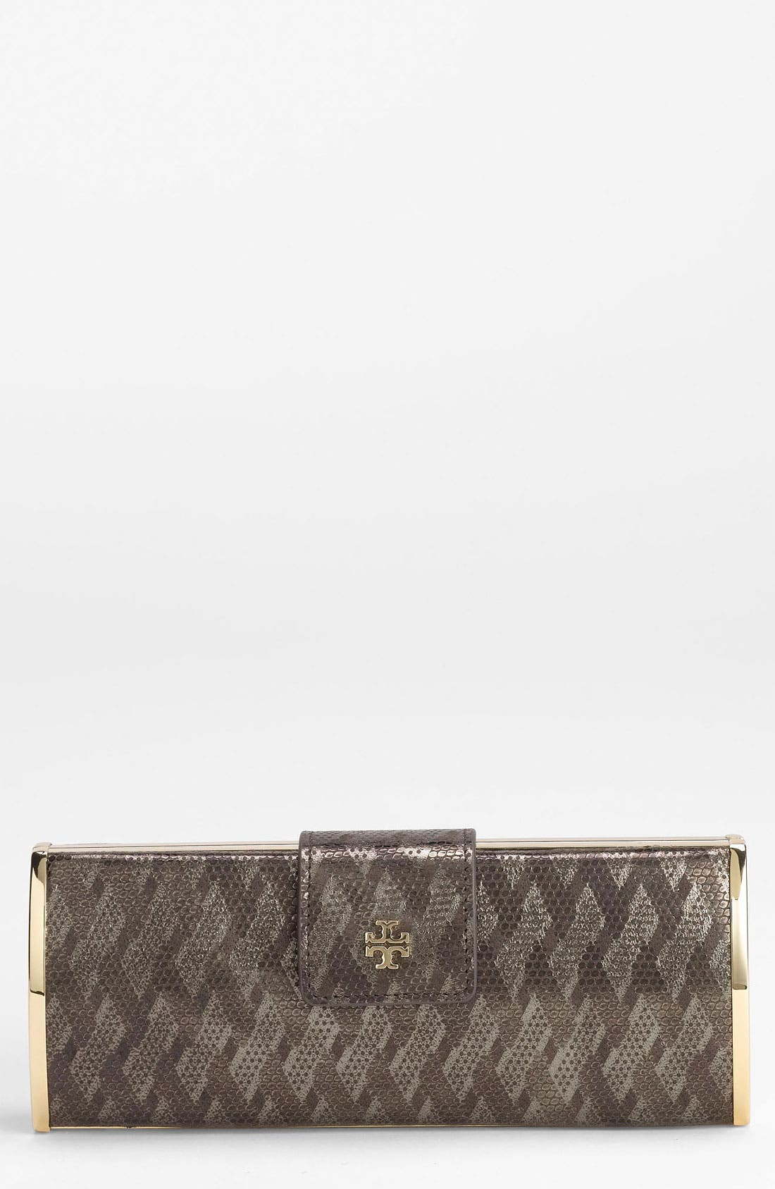 Alternate Image 1 Selected - Tory Burch 'Geo Snake Roll' Clutch
