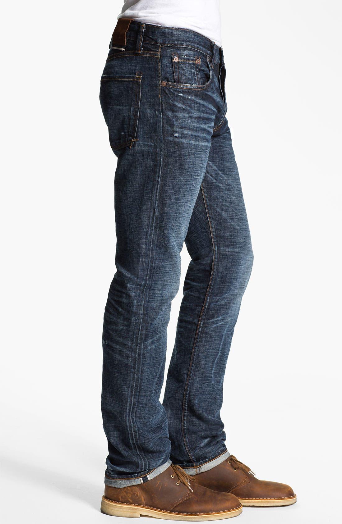 Alternate Image 3  - J Brand 'Kane' Slim Straight Leg Jeans (Memento)