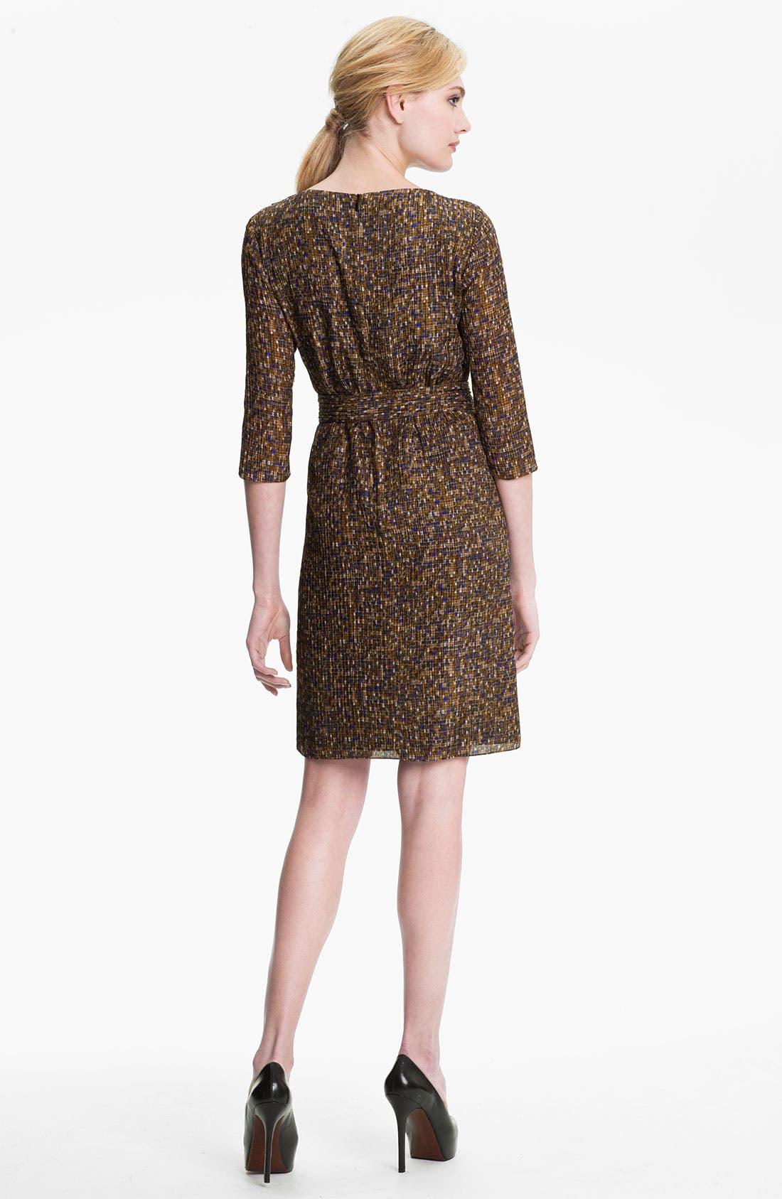 Alternate Image 2  - BOSS Black 'Darida' Silk Dress