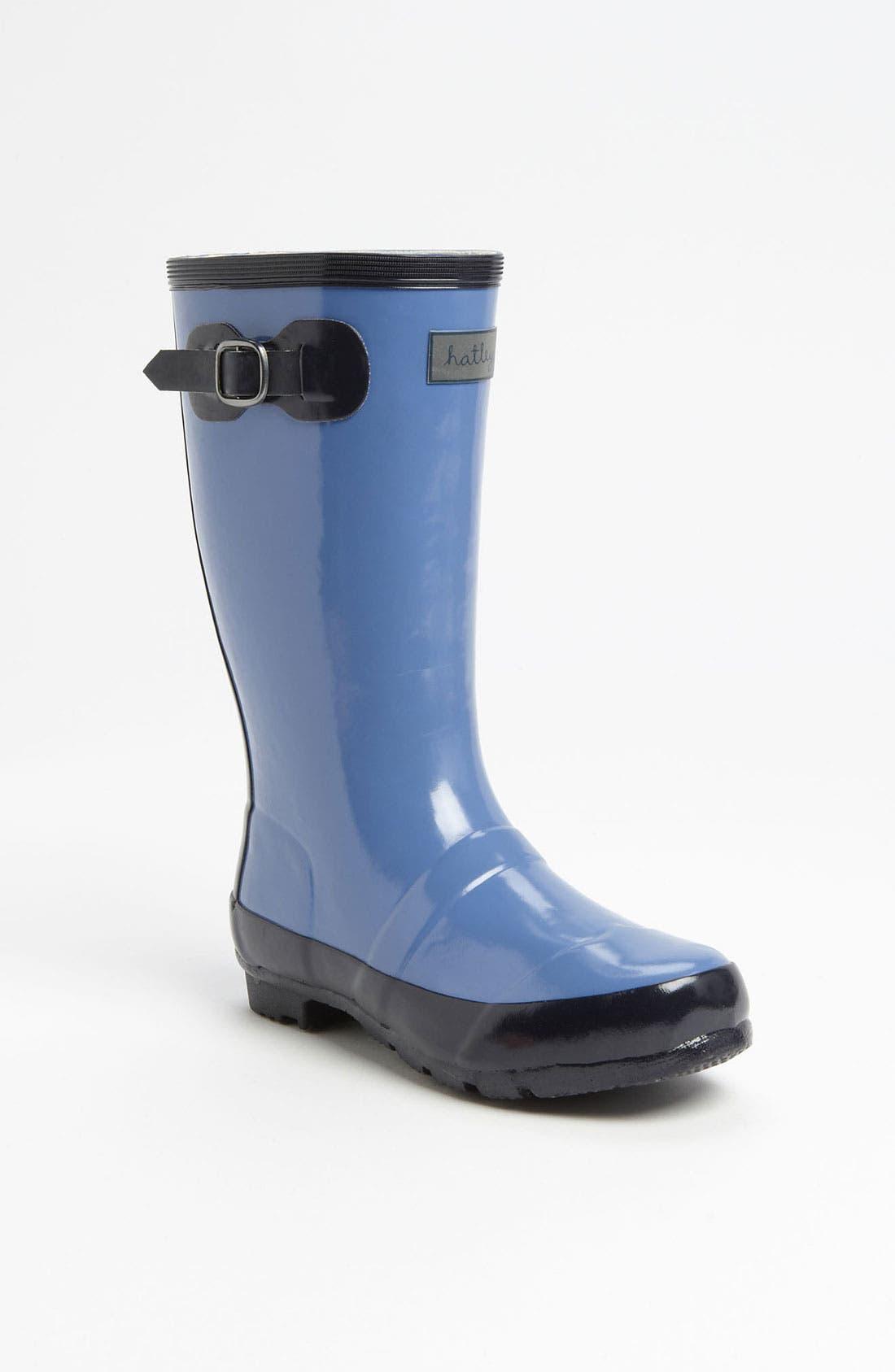 Alternate Image 1 Selected - Hatley 'Splash' Rain Boot (Toddler & Little Kid)