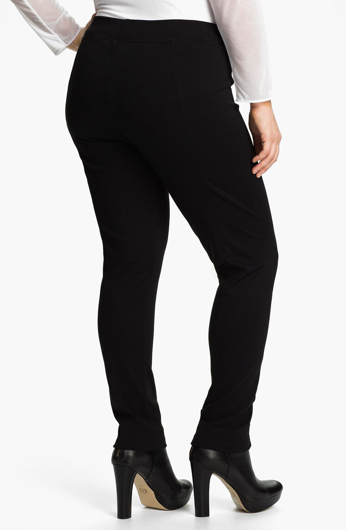 Alternate Image 2  - Out of Ashes Skinny Leggings (Plus)