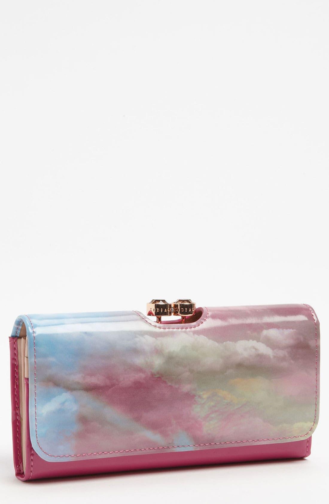 Main Image - Ted Baker London 'Moody Sunset - Crystal Bobble' Matinee Wallet