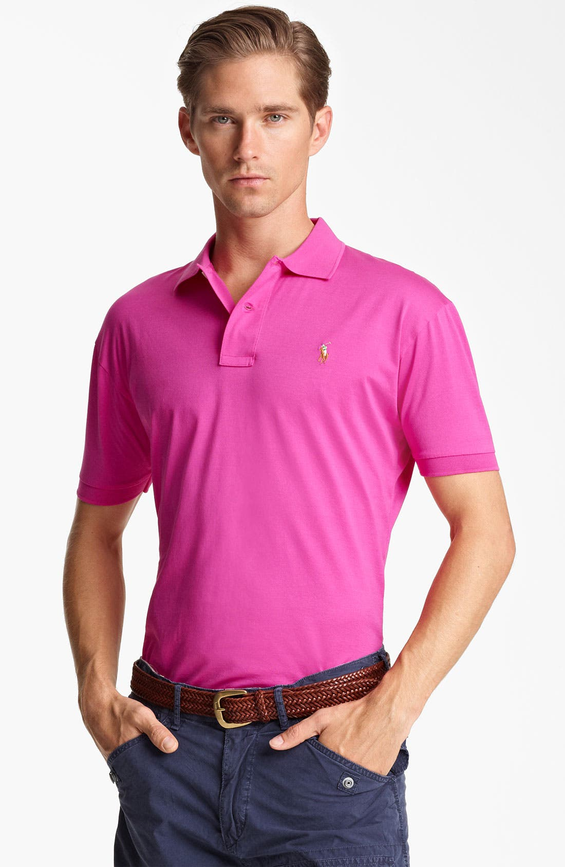 Alternate Image 1 Selected - Polo Ralph Lauren Classic Fit Polo