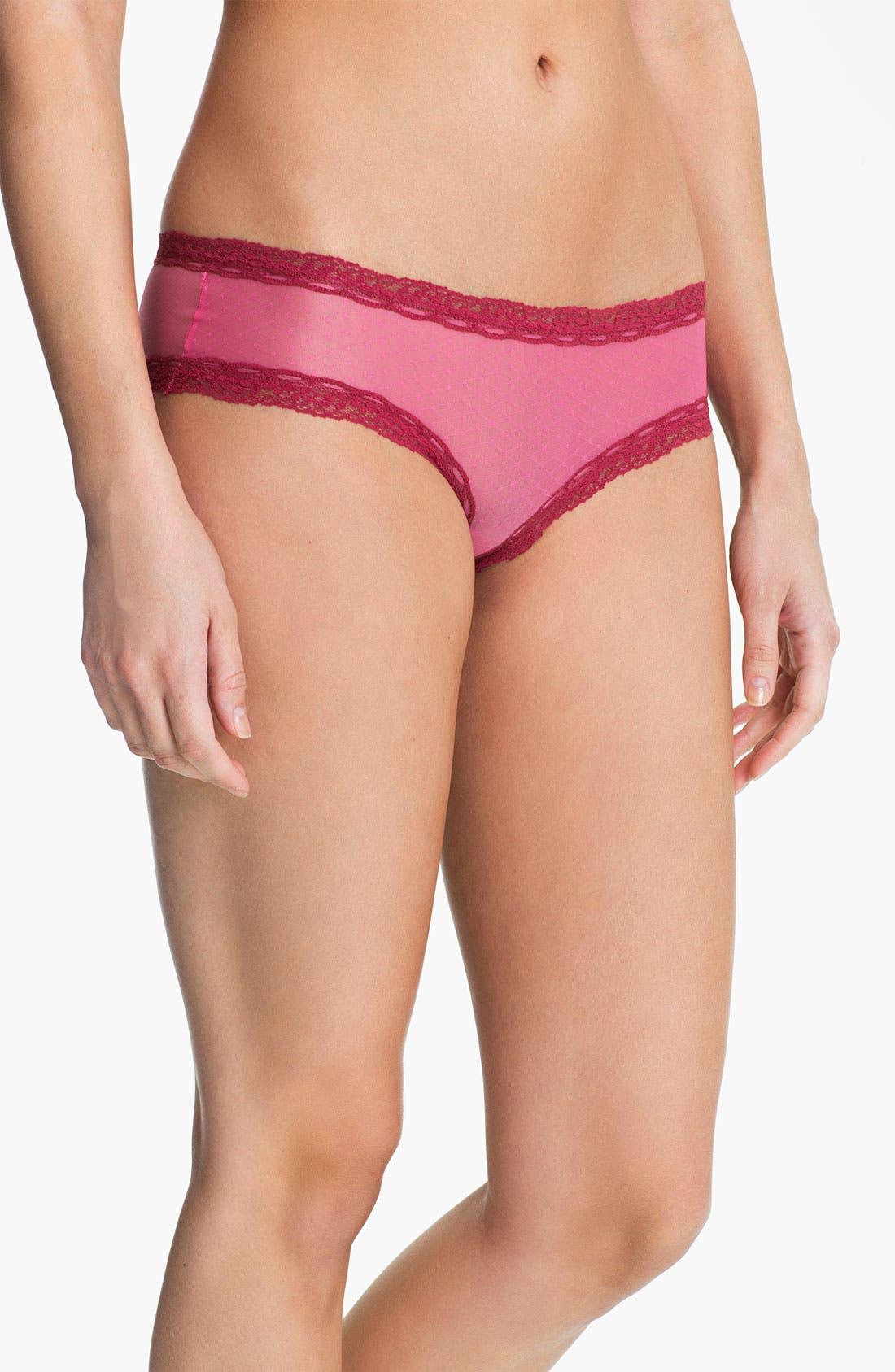 Alternate Image 1 Selected - DKNY 'Modern Lights' Mid-Rise Hipster Bikini