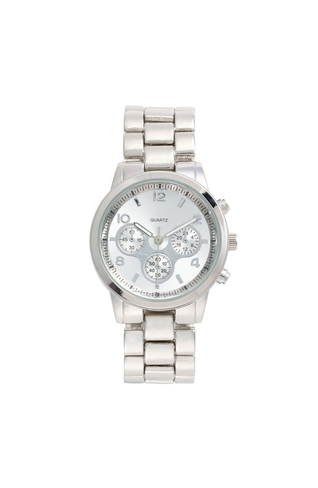 Main Image - Titanium Bracelet Watch, 35mm (Juniors) (Online Only)