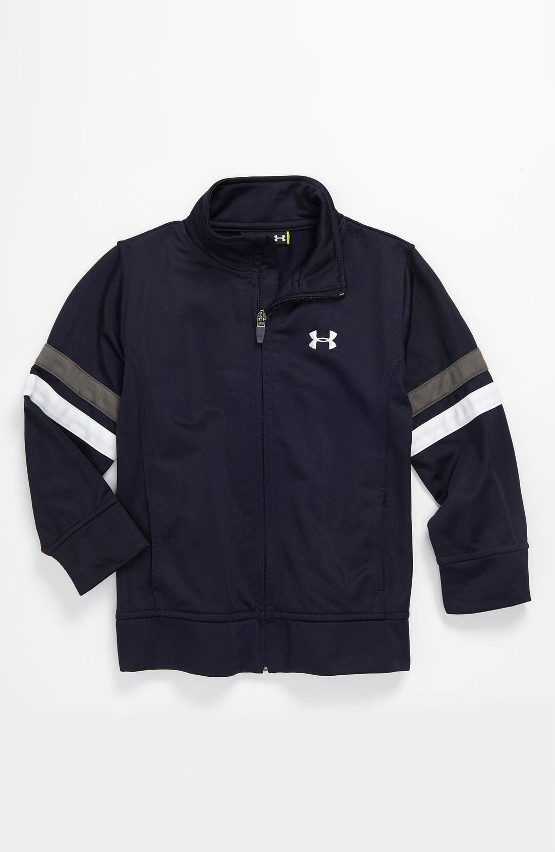 Alternate Image 1 Selected - Under Armour Warm-Up Jacket (Toddler)