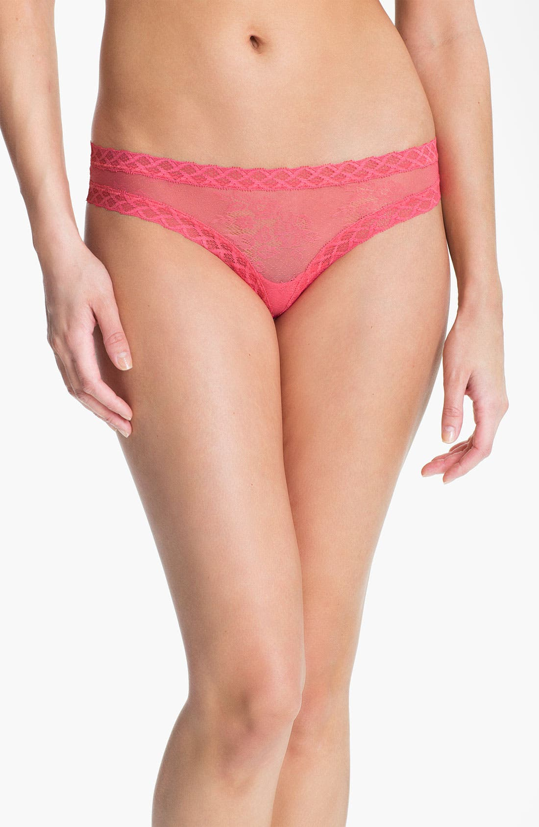 Main Image - Natori 'Bliss' Lace Thong