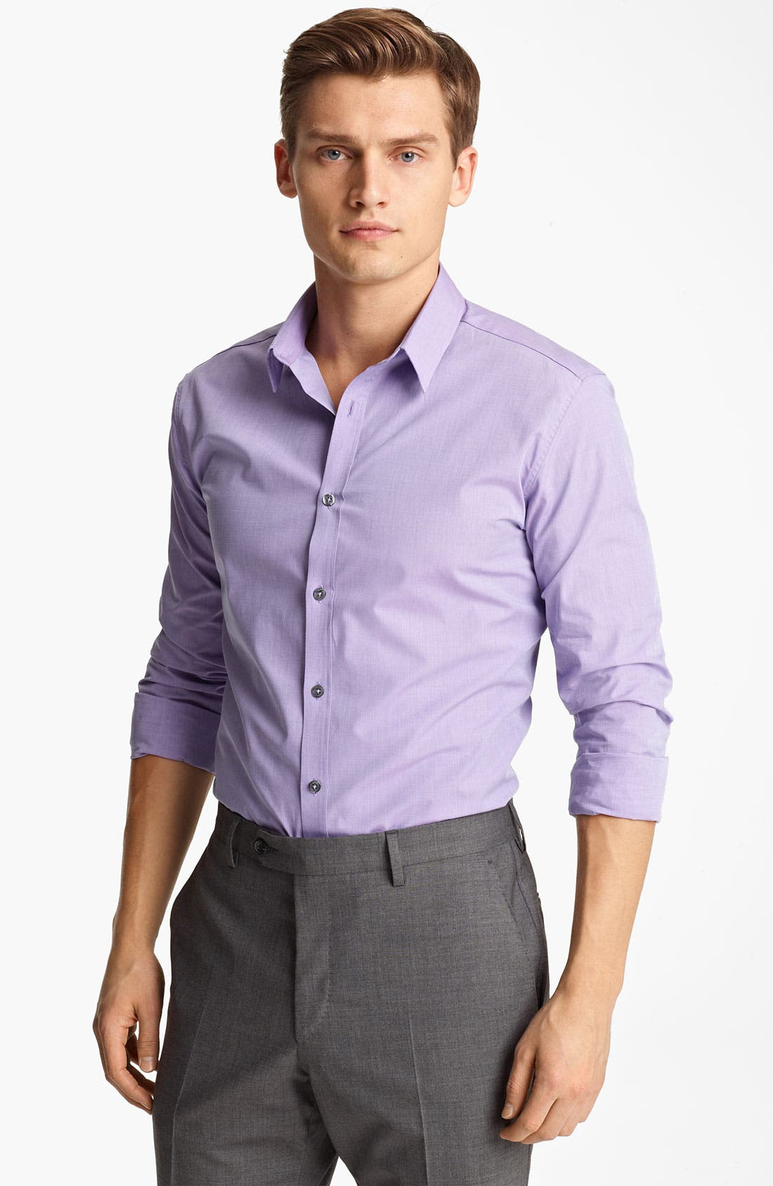 Alternate Image 1 Selected - PS Paul Smith Slim Fit Dress Shirt