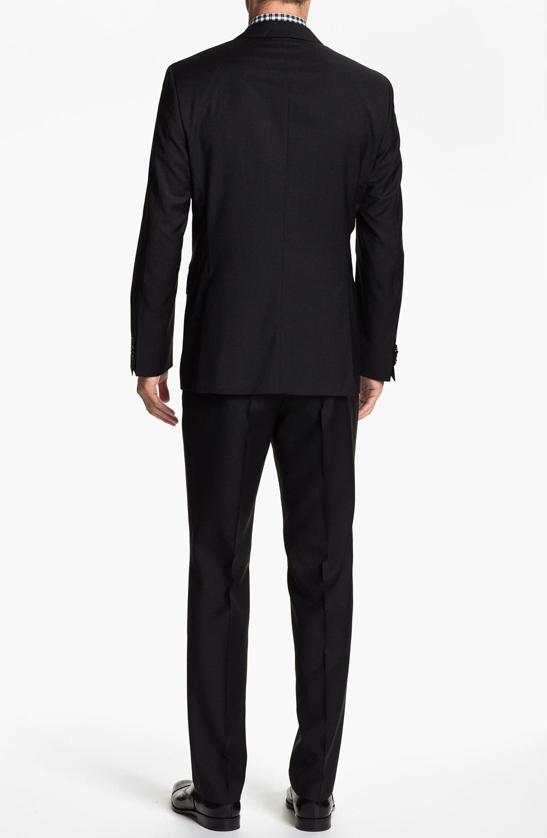 Alternate Image 3  - BOSS Black 'Jam/Sharp' Trim Fit Stripe Suit