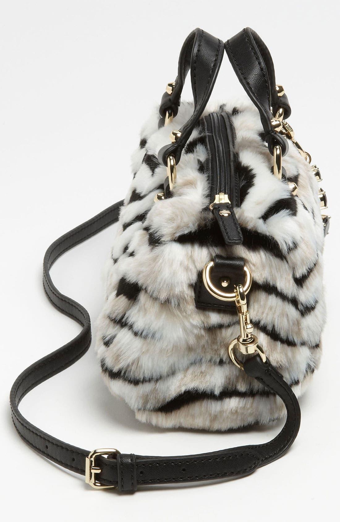 Alternate Image 2  - Juicy Couture 'Mini Steffy' Faux Fur Satchel (Girls)