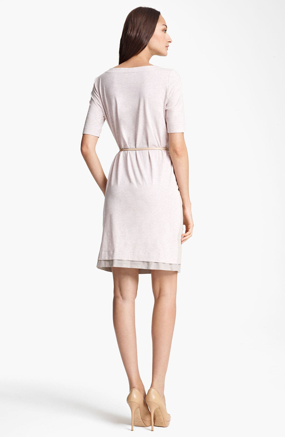Alternate Image 2  - Fabiana Filippi Belted Jersey Dress