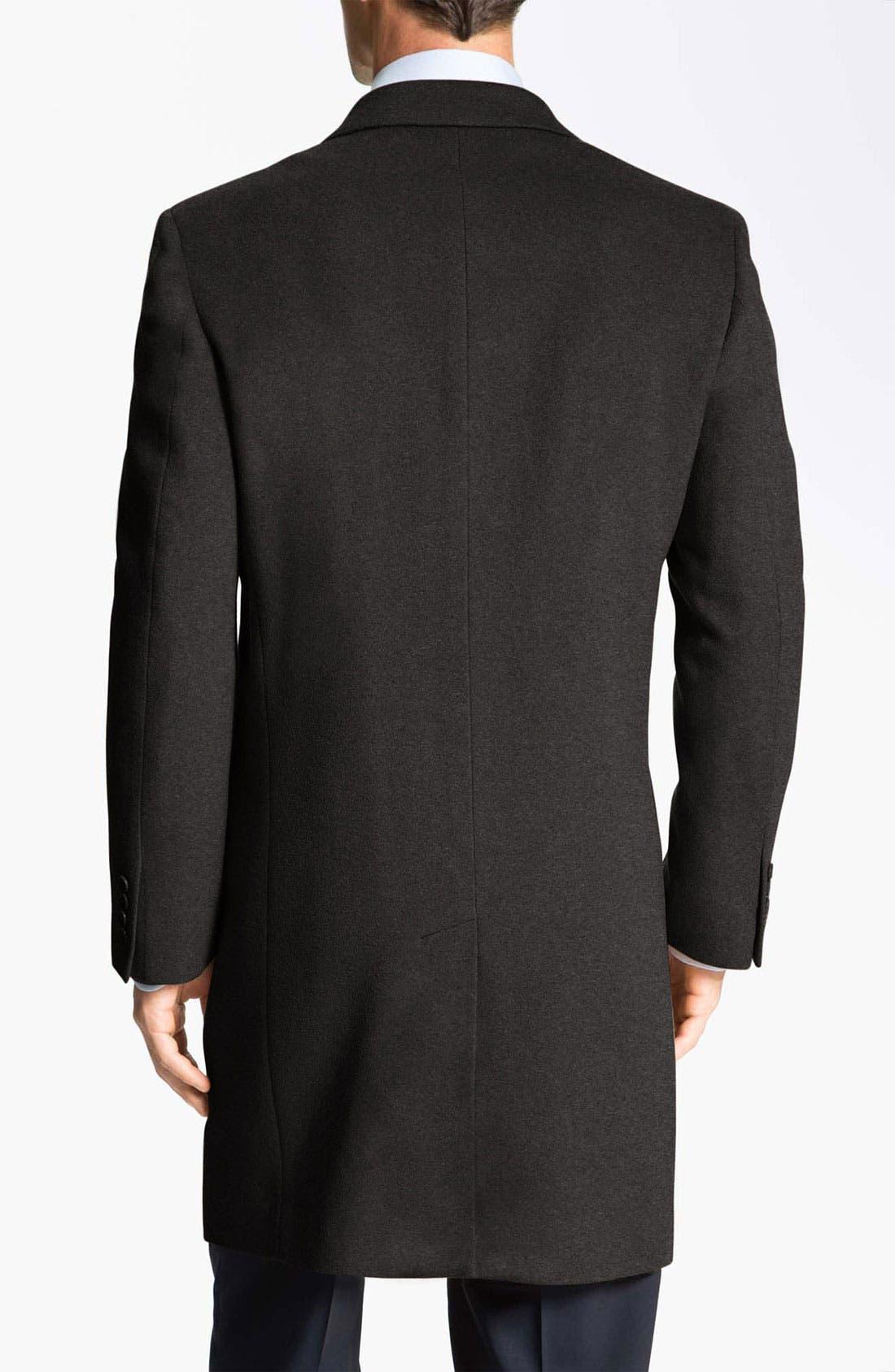 Alternate Image 2  - John W. Nordstrom® Signature 'Clifton' Cashmere Top Coat