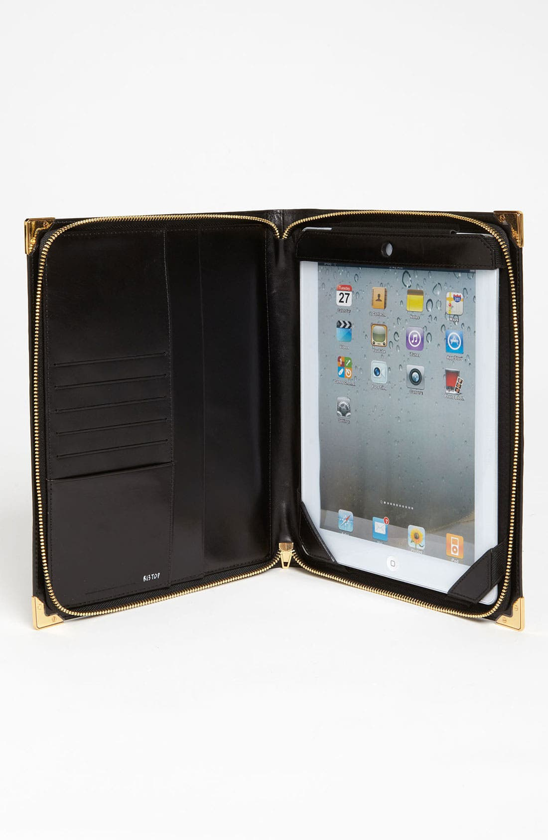 Alternate Image 2  - Alexander Wang 'Prisma' Embossed Leather iPad Case