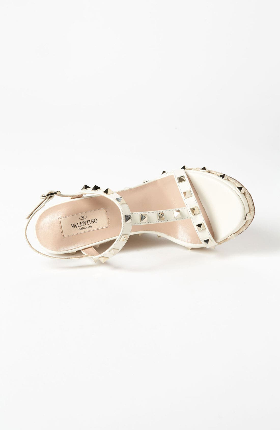 Alternate Image 3  - Valentino 'Rockstud' Wedge Sandal