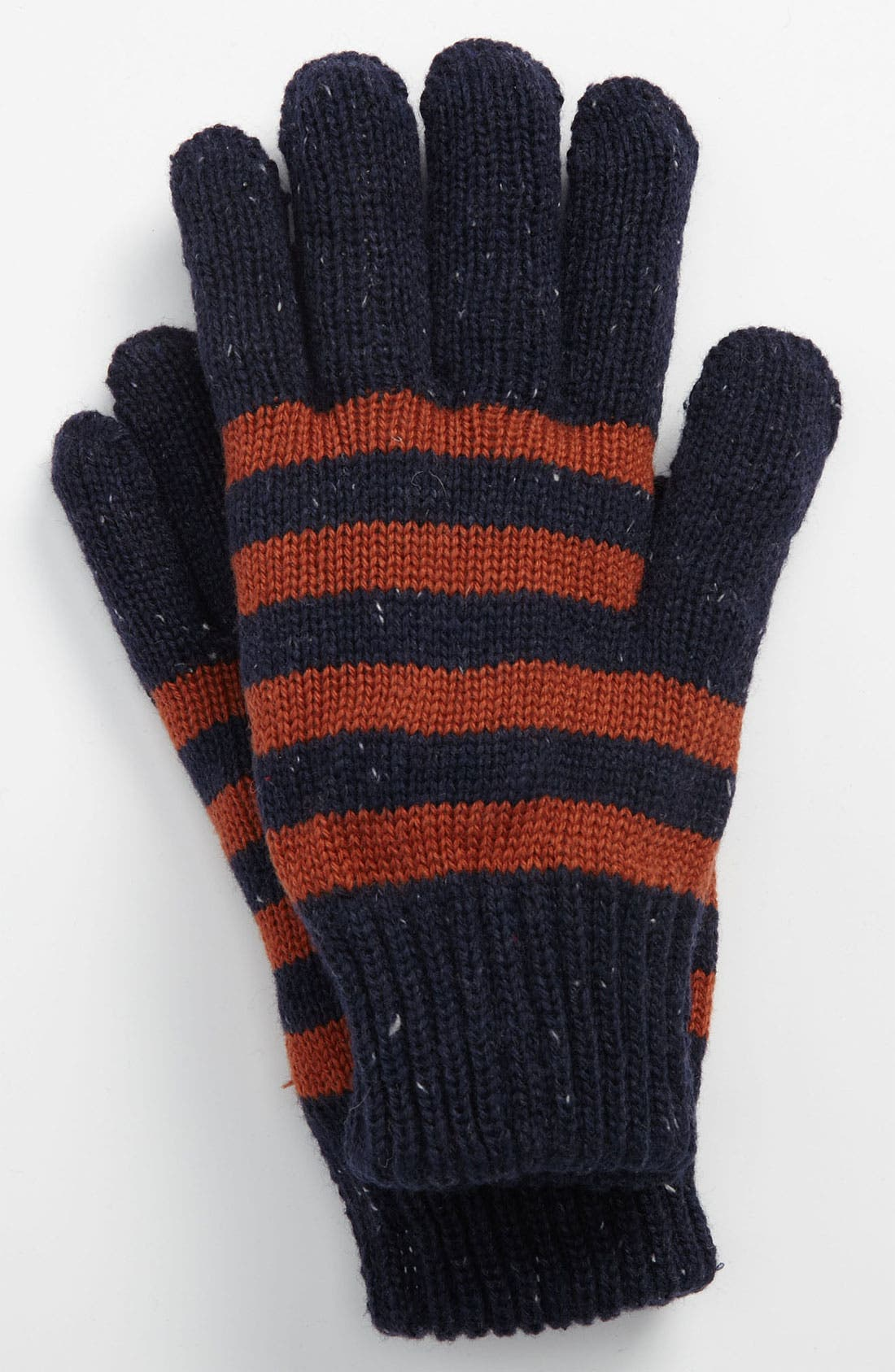 Alternate Image 1 Selected - Topman Stripe Gloves