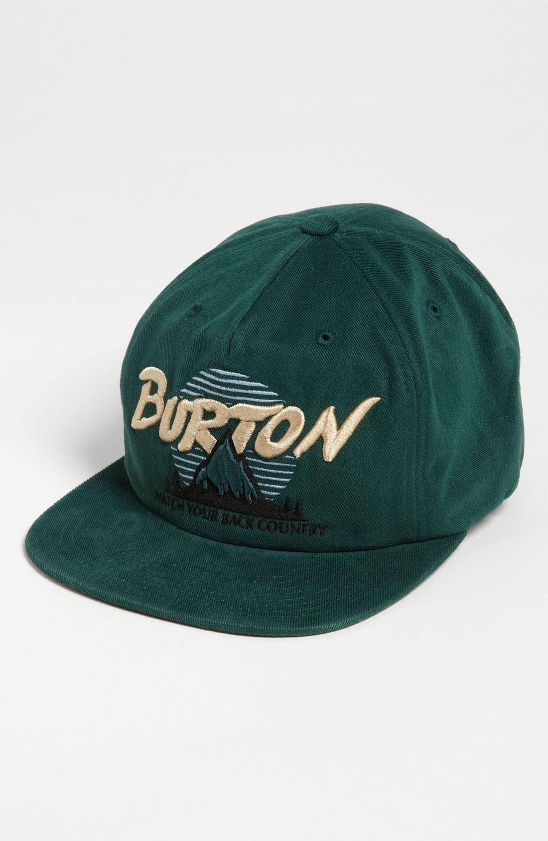 Alternate Image 1 Selected - Burton 'Bagger' Snapback Baseball Cap