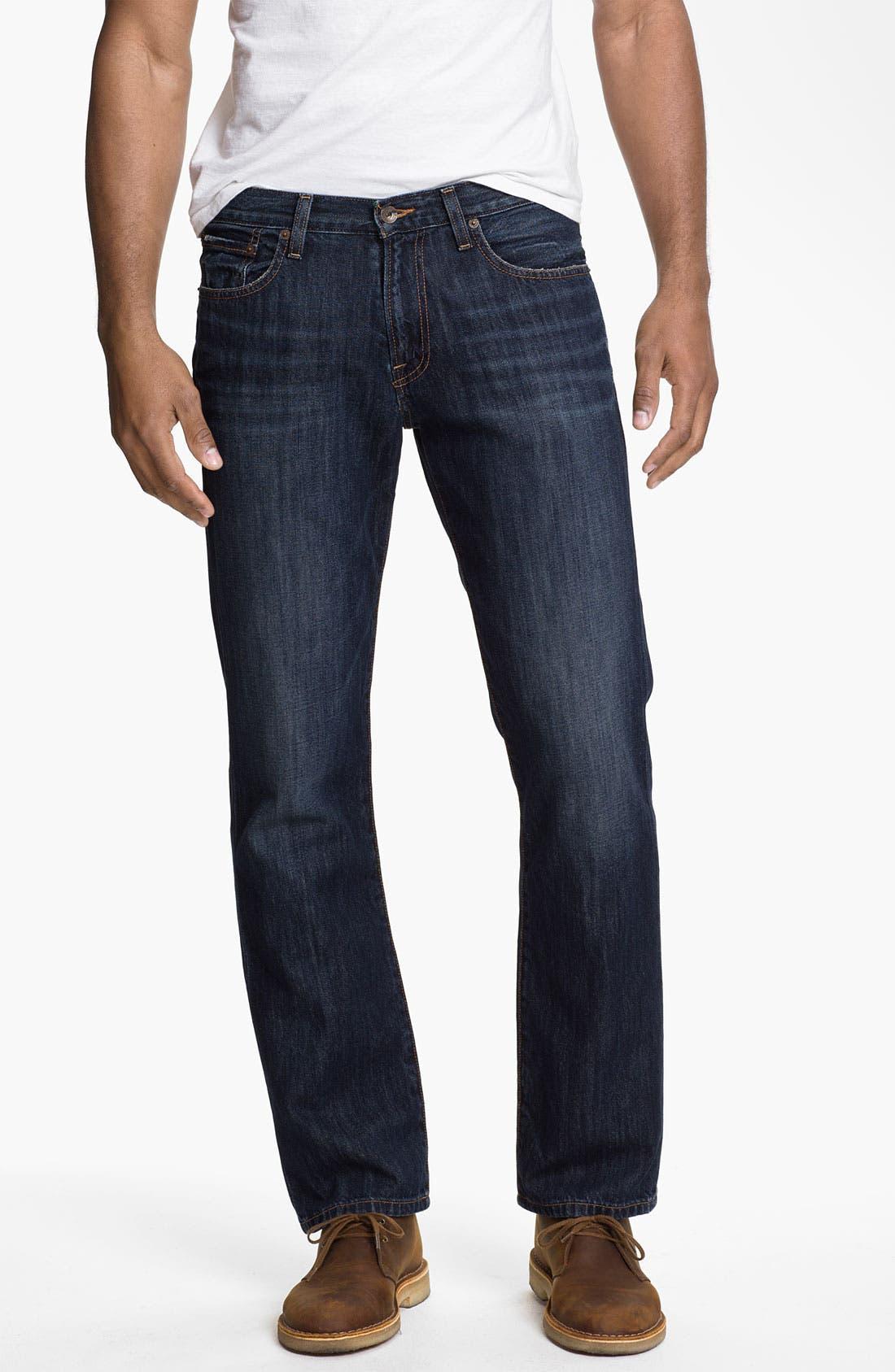 Main Image - Lucky Brand '221 Original' Straight Leg Jeans (Capistrano)