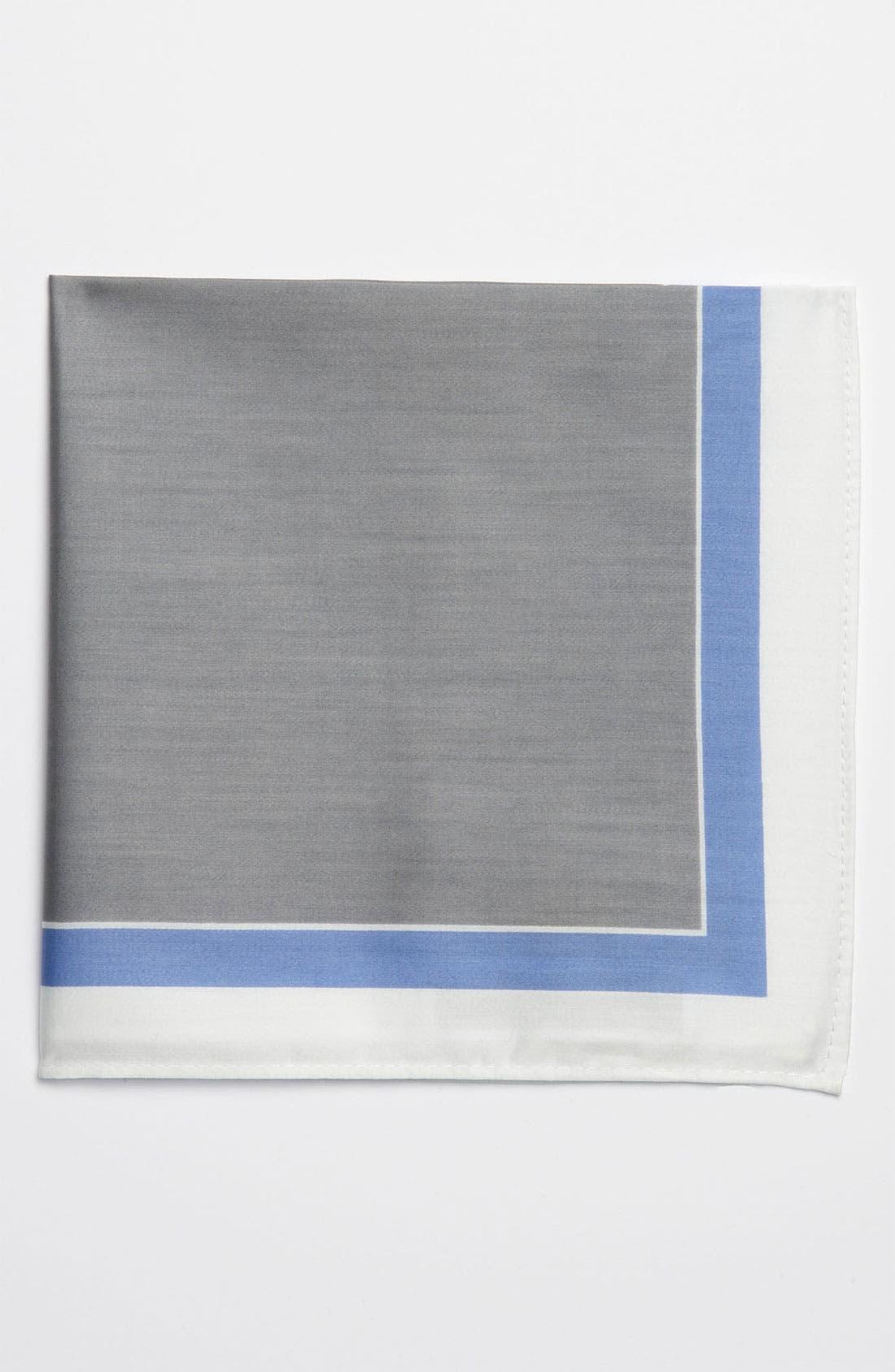 Alternate Image 1 Selected - Michael Kors Border Pocket Square