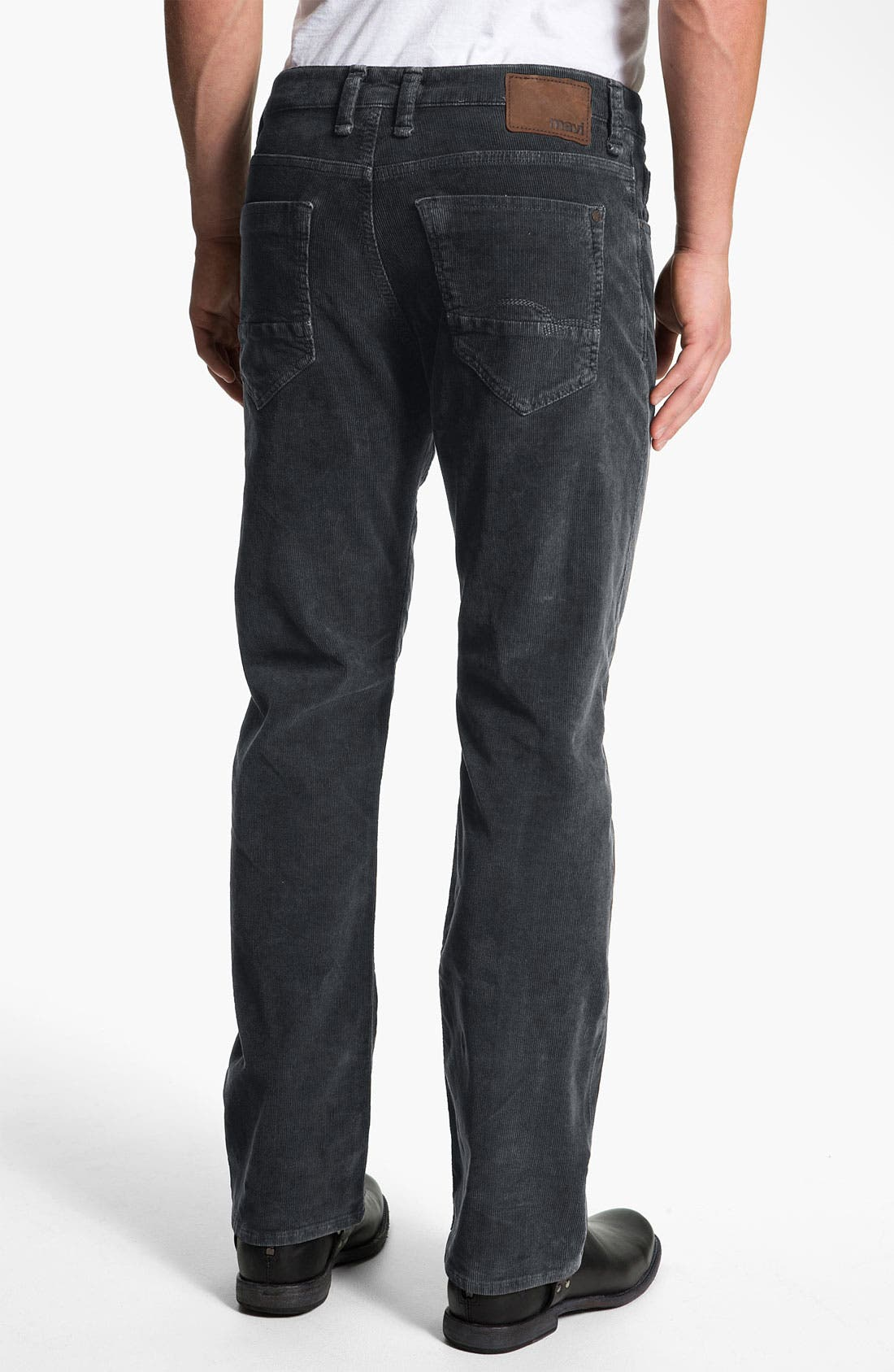 Alternate Image 1 Selected - Mavi Jeans 'Matt' Relaxed Straight Leg Corduroy Pants