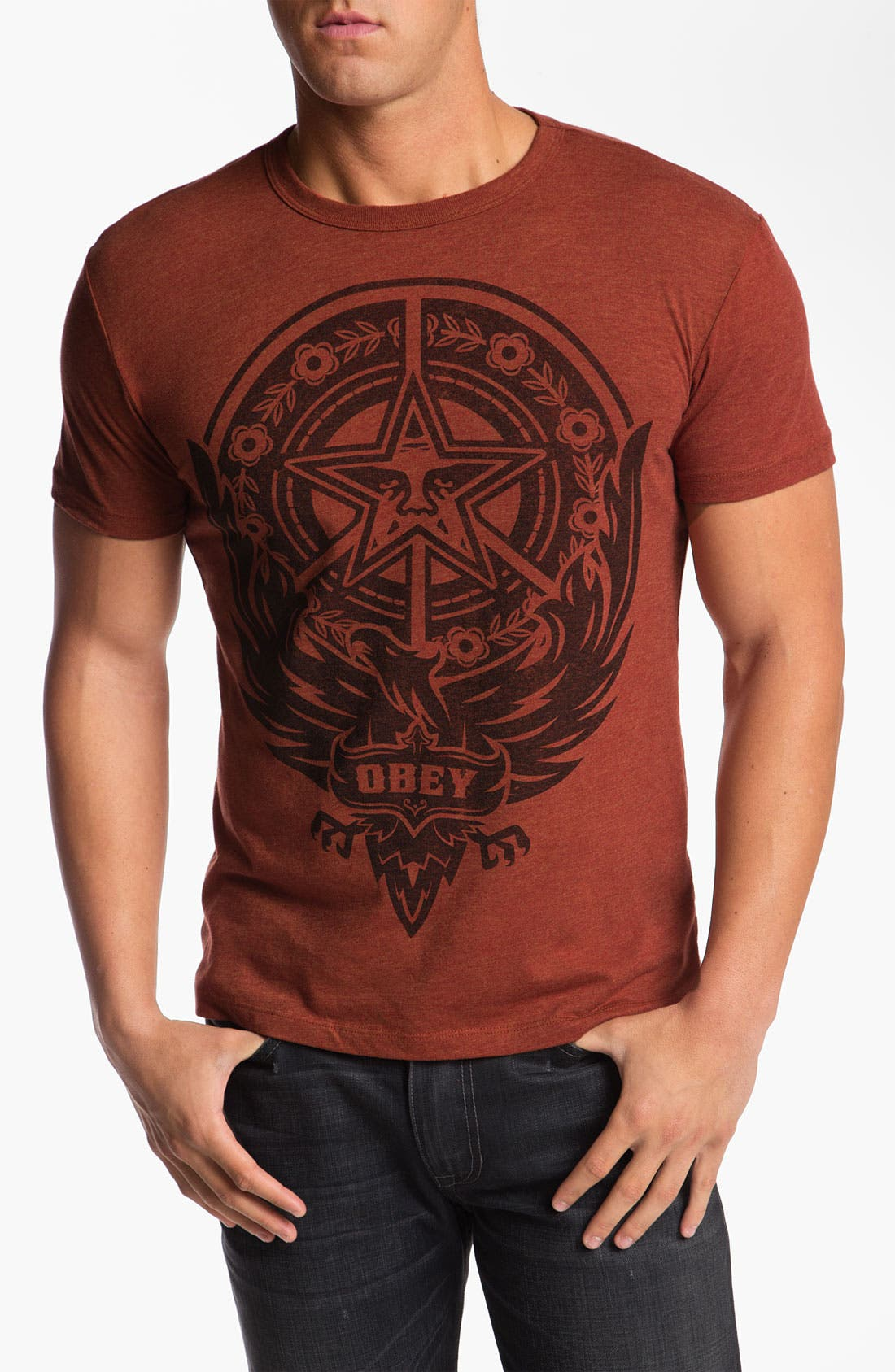Alternate Image 1 Selected - Obey 'Peace Phoenix' T-Shirt